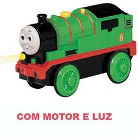 Linha Madeira - Percy (luz e motor elétrico) anda sozinho