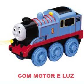 Linha Madeira - Thomas (luz e motor elétrico) anda sozinho