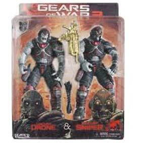 Locust Drone e Sniper (Gears of War 2)