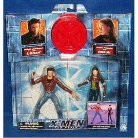 Logan (Hugh Jackman) vs. Rogue (Anna Paquin)