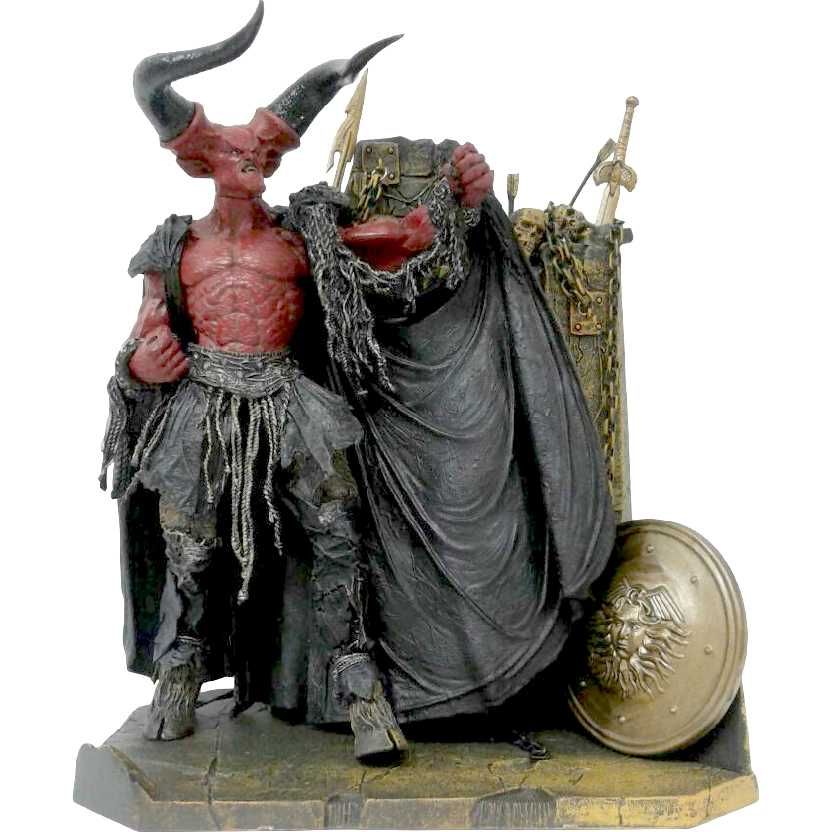 Lord of the Darkness c/ cx. de acrílico (aberto) Movie Maniacs 5 Deluxe marca McFarlane Toys