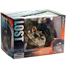 Lost - Hatch Diorama com luz