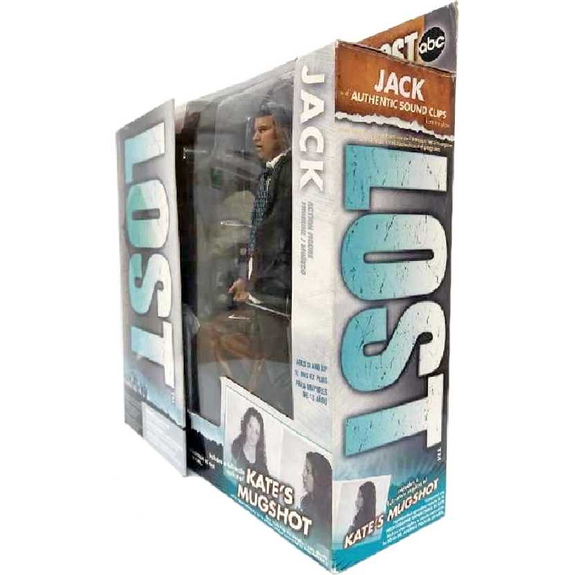 Lost Jack com som ( Matthew Fox ) McFarlane Toys Action Figures