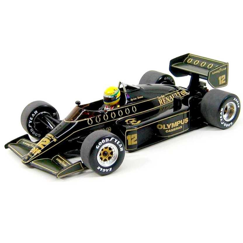 Lotus 97T Ayrton Senna (1985) marca Minichamps escala 1/18