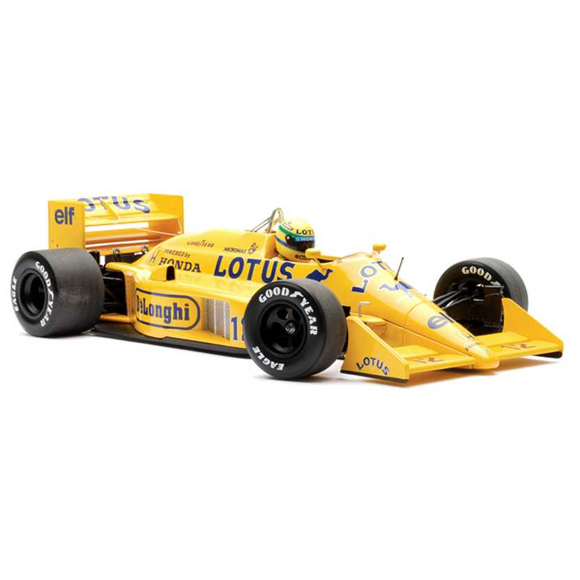 Lotus Honda 99T Ayrton Senna (1987) Minichamps escala 1/18