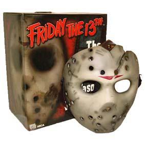 Máscara do Jason Voorhees (2004) Neca Jason X Hockey Mask film Friday The 13th