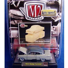 M2 Carros de Metal 1/64 Dodge Coronet (1954) série 3B R03B 31500