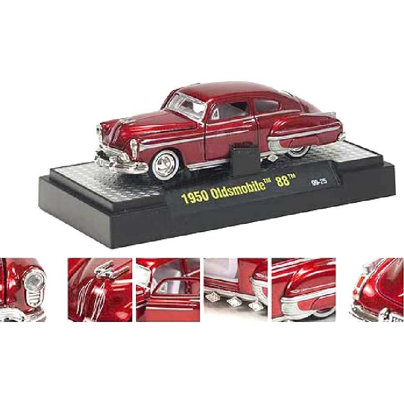 M2 Machines 1950 Oldsmobile 88 escala 1/64 Auto-Dreams R10 31500