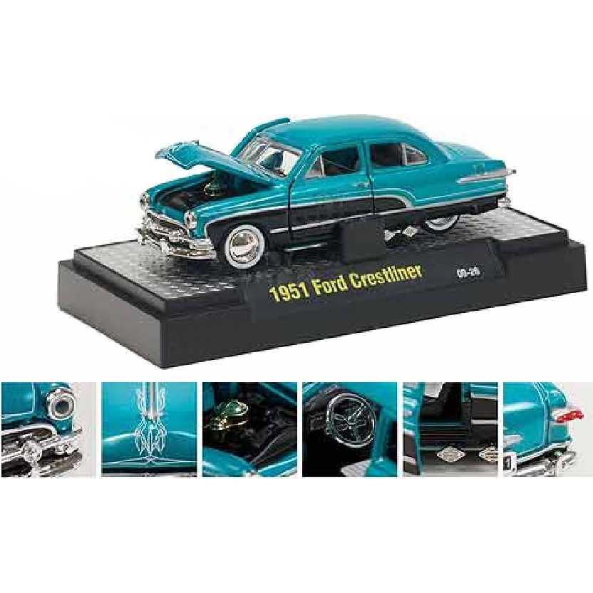 M2 Machines 1951 Ford Crestliner escala 1/64 Auto-Dreams R10 31500