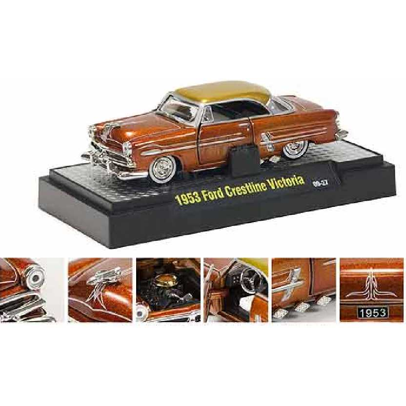 M2 Machines 1953 Ford Crestline Victoria escala 1/64 Auto-Dreams R10 31500