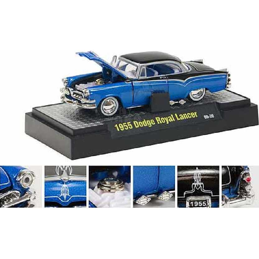 M2 Machines 1955 Dodge Royal Lancer escala 1/64 Auto-Dreams R10 31500