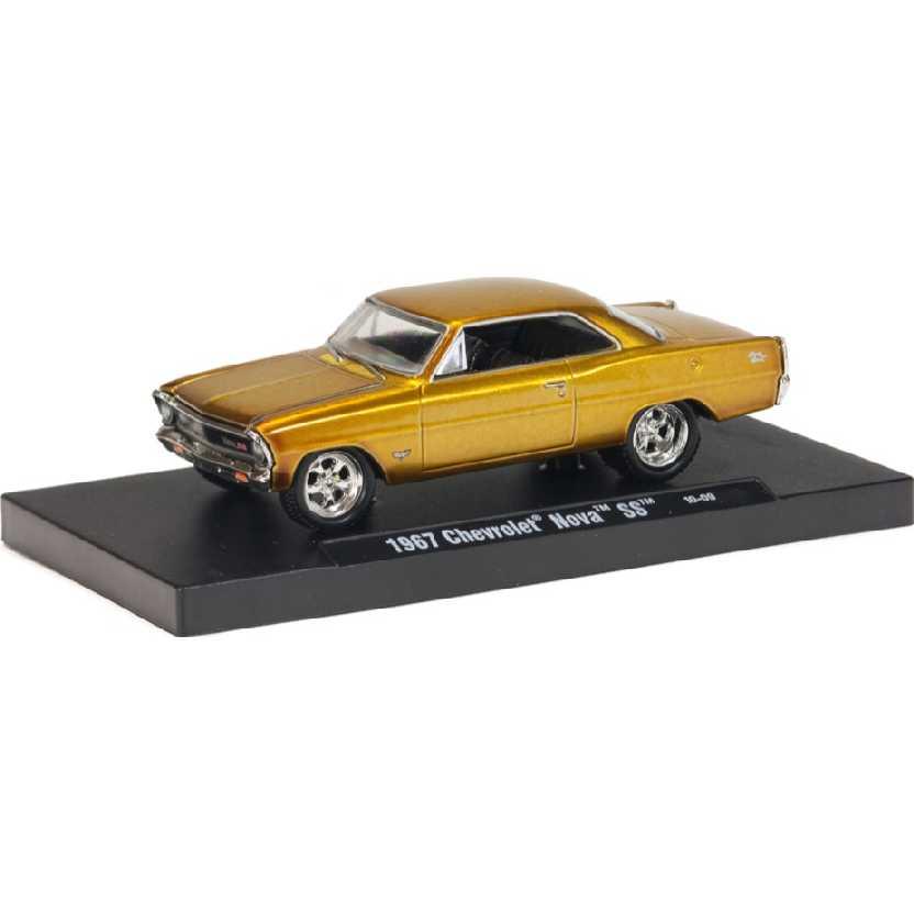M2 Machines Auto-Drivers 1967 Chevrolet Nova SS escala 1/64 11228 R06