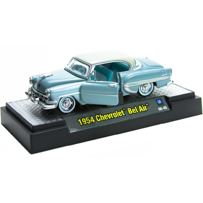 M2 Machines Auto-Thentics 1954 Chevrolet Bel Air escala 1/64 R04 31500