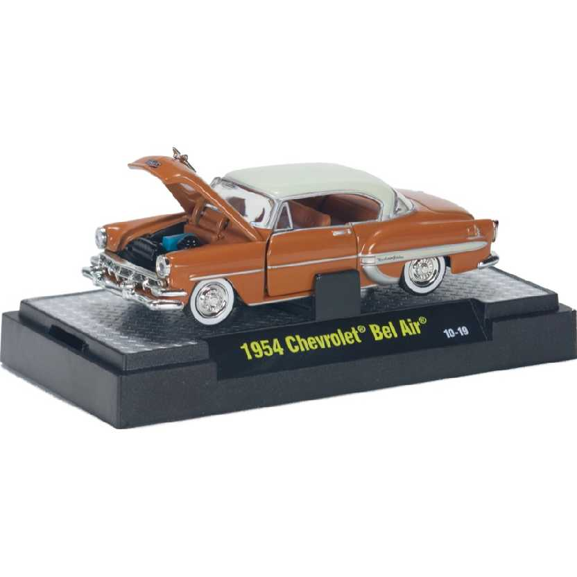 M2 Machines Auto-Thentics 1954 Chevrolet Bel Air escala 1/64 R14 31500