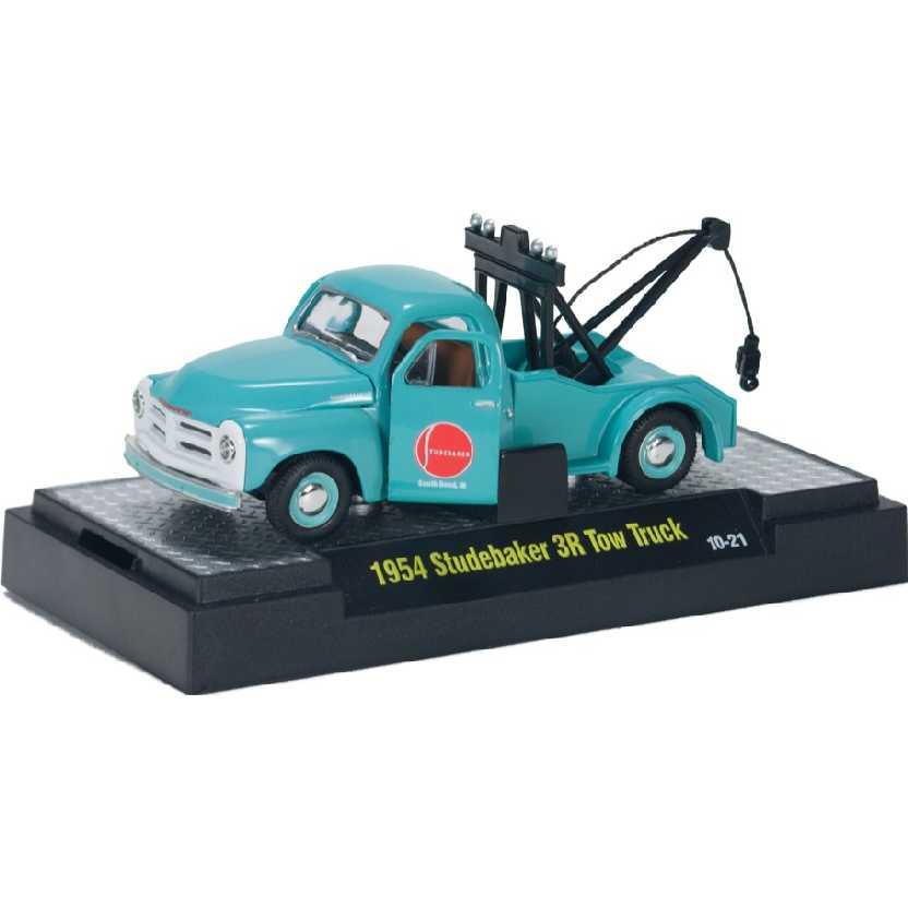 M2 Machines Auto-Thentics 1954 Guincho Studebaker 3R Tow Truck escala 1/64 R14 31500