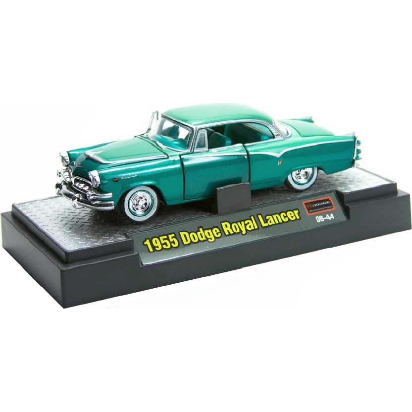 M2 Machines Auto-Thentics 1955 Dodge Royal Lancer escala 1/64 R04 31500