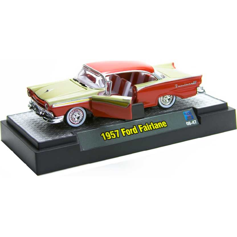 M2 Machines Auto-Thentics 1957 Ford Fairlane escala 1/64 R04 31500