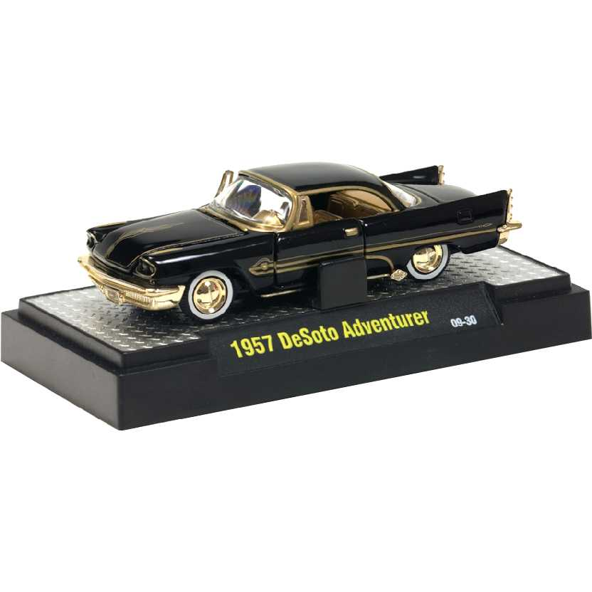 M2 Machines Chase (Raro) 1957 DeSoto Adventurer escala 1/64 R10 31500
