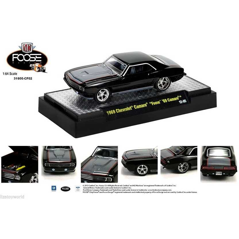 M2 Machines Chip Foose R2 series 2 - 1969 Chevrolet Camaro escala 1/64