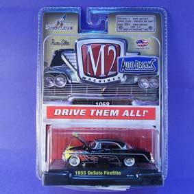 M2 Machines Miniaturas de Carros Antigos 1/64 DeSoto Fireflite (1955) 31500 R12