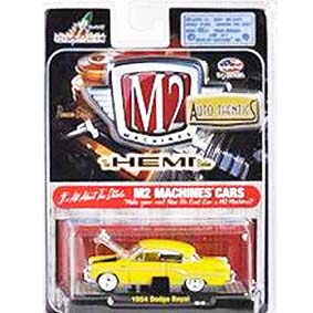 M2 Machines Miniaturas de Carros em metal 1/64 Dodge Royal (1954) 31500 R09