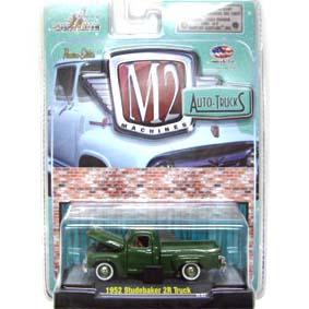 M2 Machines Miniaturas Studebaker 2R Pickup Truck (1952) Auto-Thentics R17 31500