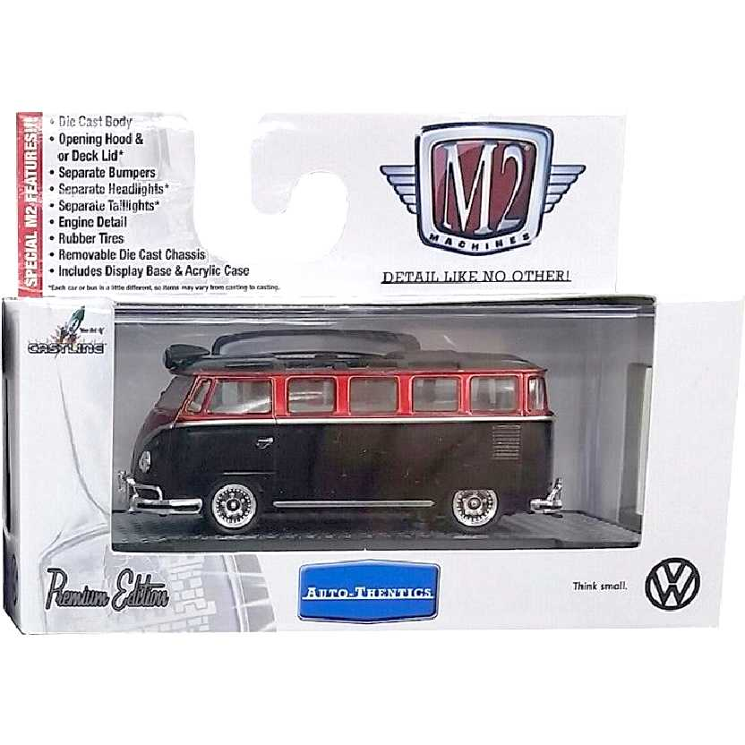M2 Machines Volkswagen Kombi (1958) VW Microbus 15 Window escala 1/64 32500 VW03 R3