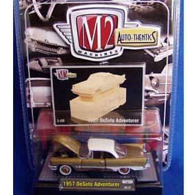 M2 Miniatura de Carros Antigos DeSoto Adventurer (1957) série 3B R03B 31500