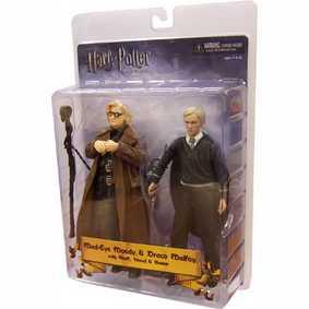 Mad Eye Moody e Draco Malfoy (Dupla - Harry Potter)