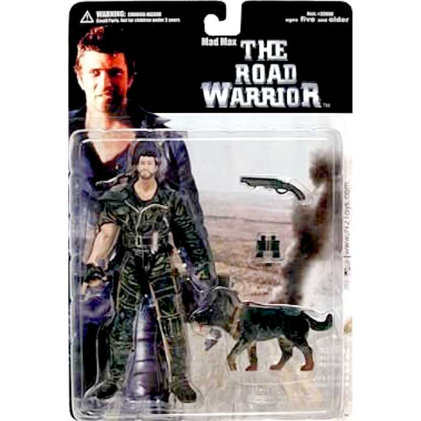 Mad Max (Mel Gibson) The Road Warrior series 1 marca N2 Toys Action Figures RARIDADE