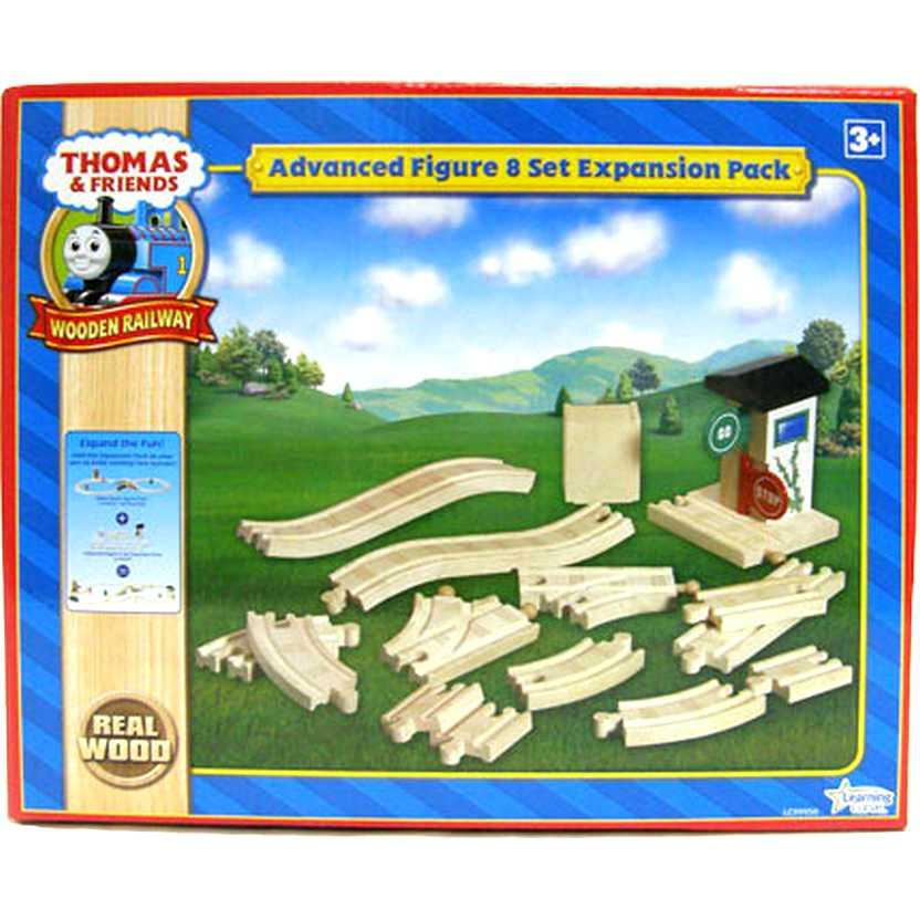 Madeira Pista Thomas e seus Amigos Deluxe Advanced Figure 8 Set Expansion Pack