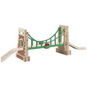 Madeira Ponte Suspensa com Sodor