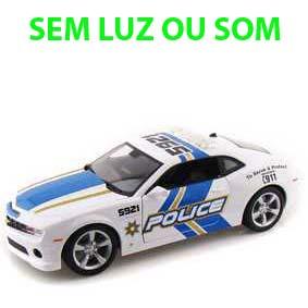 Maisto Camaro 2010 SS RS Police Miniatura escala 1/18