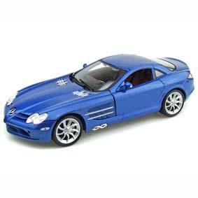 Maisto escala 1/18 Mercedes Mclaren SLR azul