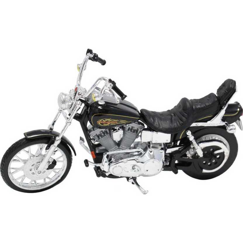 Maisto Harley-Davidson 1997 FXDWG Dyna Wide Glide S-32 escala 1/18
