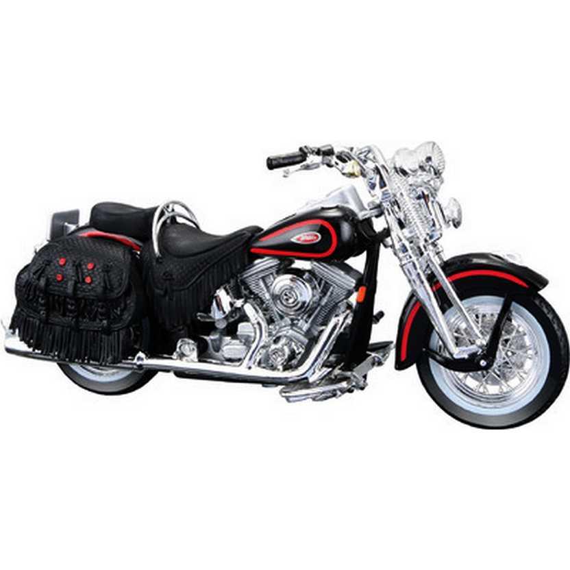 Maisto Harley-Davidson 1998 FLSTS Heritage Springer S-31 escala 1/18