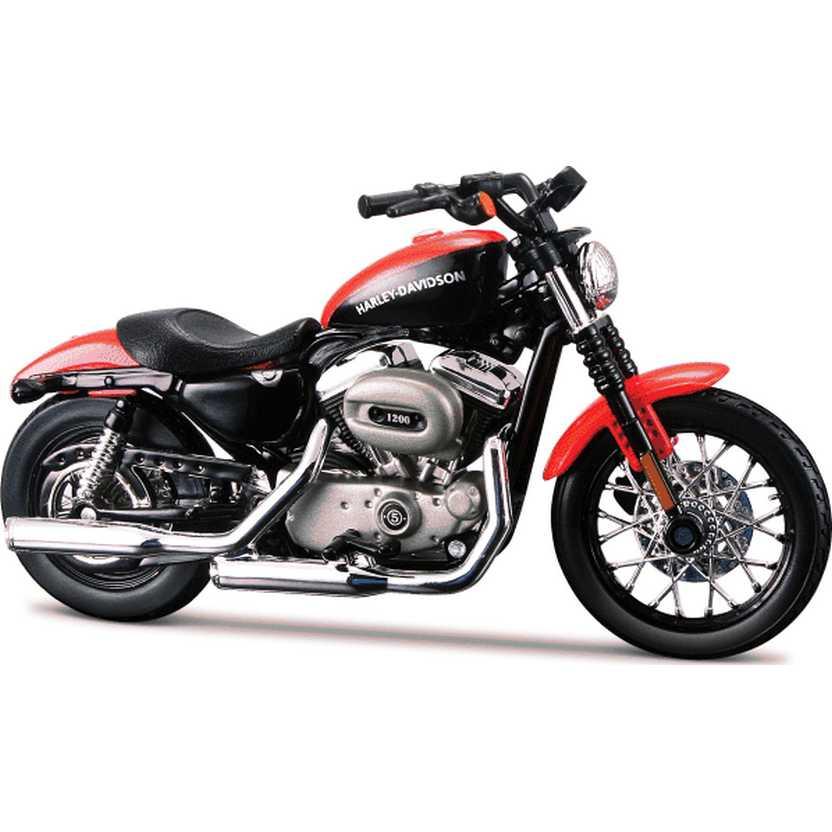 Maisto Harley-Davidson 2007 XL 1200N Nightster S-31 escala 1/18