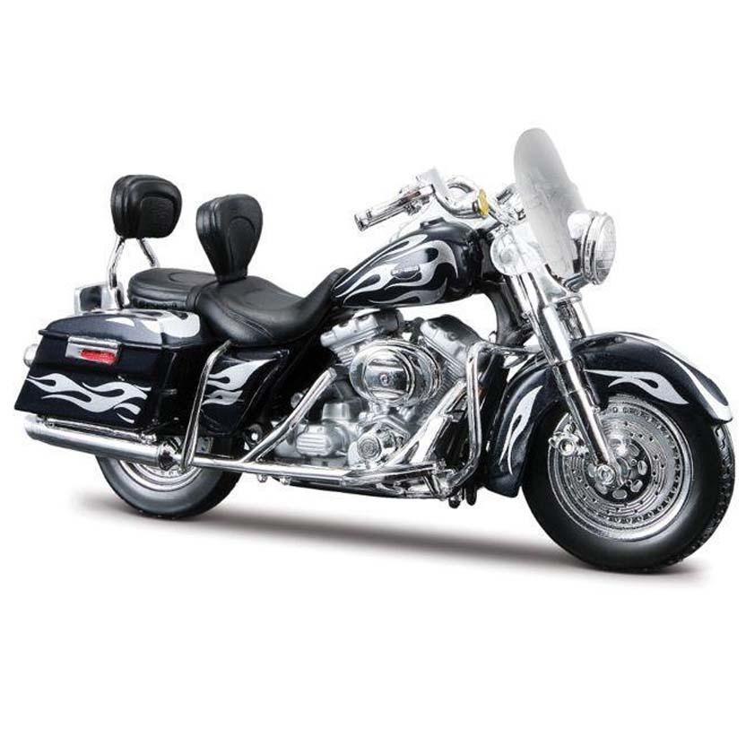 Maisto Harley-Davidson CVO Custom FLHRSEI S-30 (2002) escala 1/18