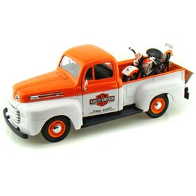 Maisto Harley Davidson :: FL Panhead (1948) e Pickup Ford F1 (1948)