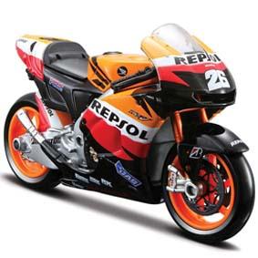 Maisto Miniaturas de Motos :: Moto GP Repsol Honda 2010 Dani Pedrosa escala 1/18