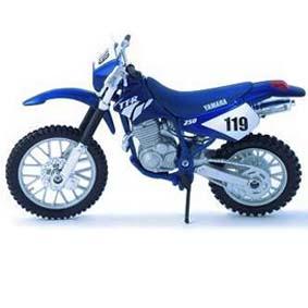 Maisto Moto Yamaha TTR 250 escala 1/18