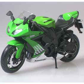 Maisto Motos escala 1/12 :: Miniatura Kawasaki ZX-10R Ninja (2010)