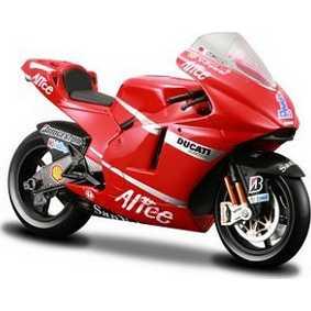 Maisto Motos escala 1/18 Ducati Desmosedici Casey Stoner #1 (2008) raridade