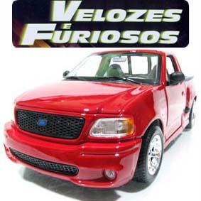 Maisto Pickup Ford F-150 SVT Lightning similar do Brian - filme Velozes e Furiosos