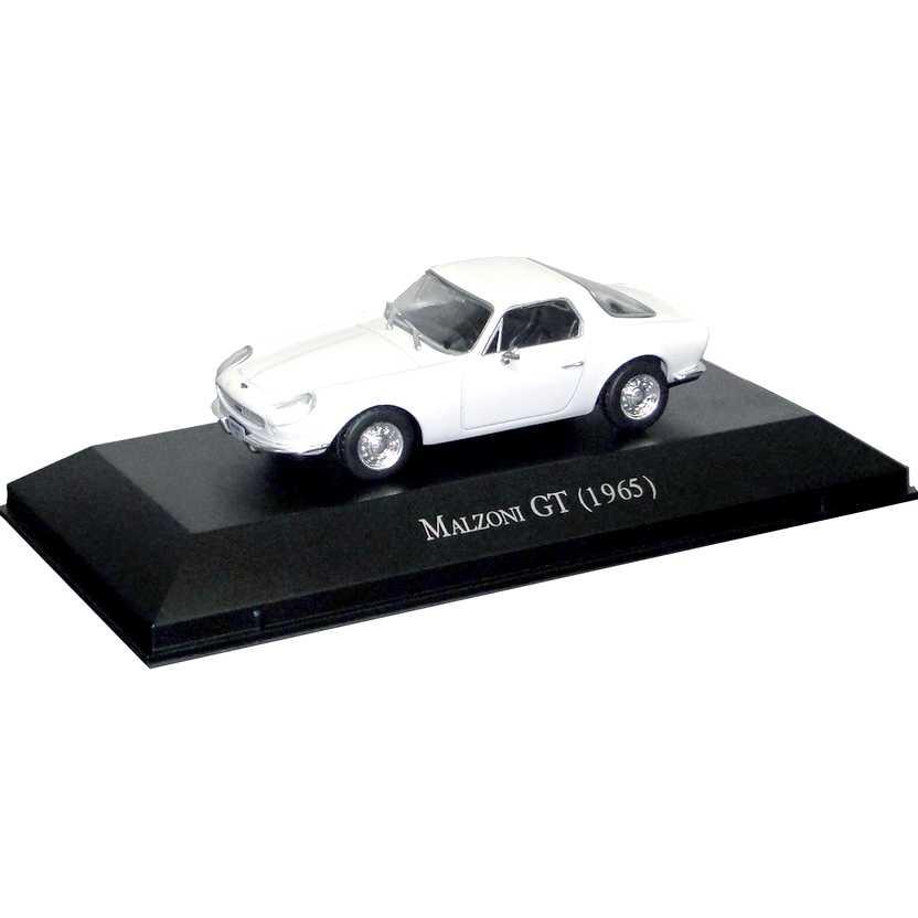 Malzoni GT 1965 Coleção Carros Inesquecíveis Do Brasil escala 1/43