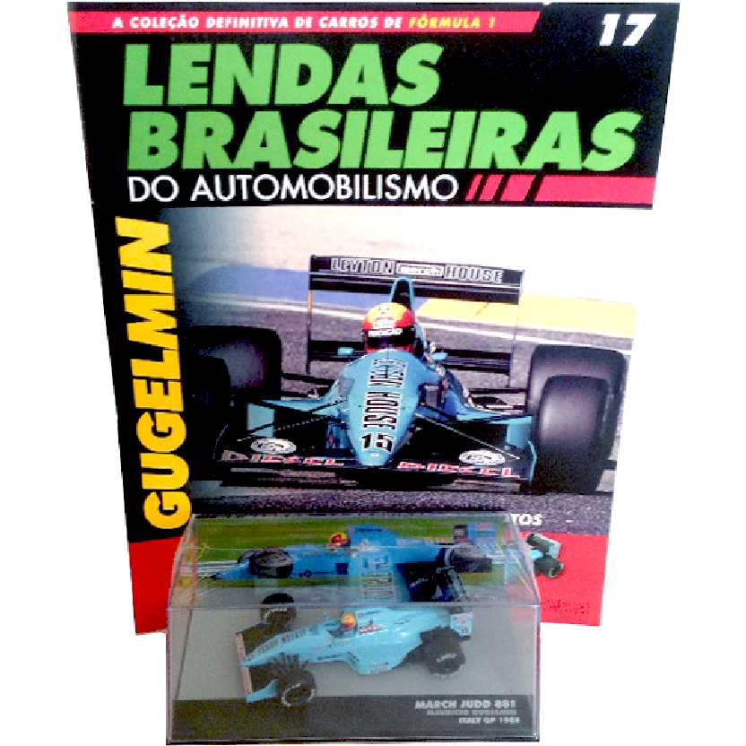 March Judd 881 Mauricio Gugelmin Lendas Brasileiras #17 do Automobilismo escala 1/43