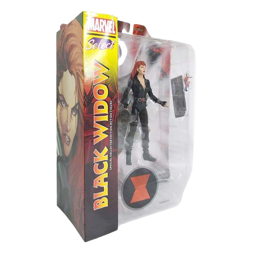 Marvel Select Black Widow ( Viúva Negra ) Diamond Select Toys Action Figures