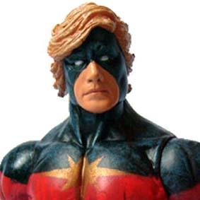 Marvel Select Captain Marvel action figure - Capitão Marvel boneco Diamond