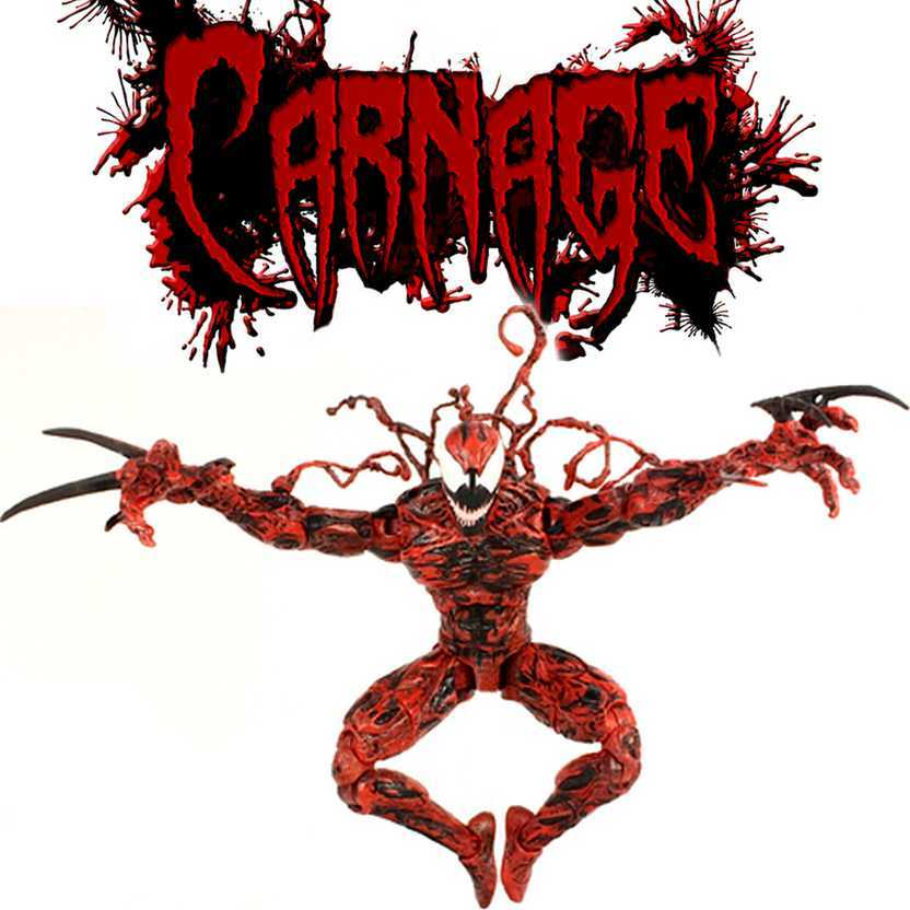Marvel Select: Carnage - Carnificina 2015 Diamond Select Toys action figures