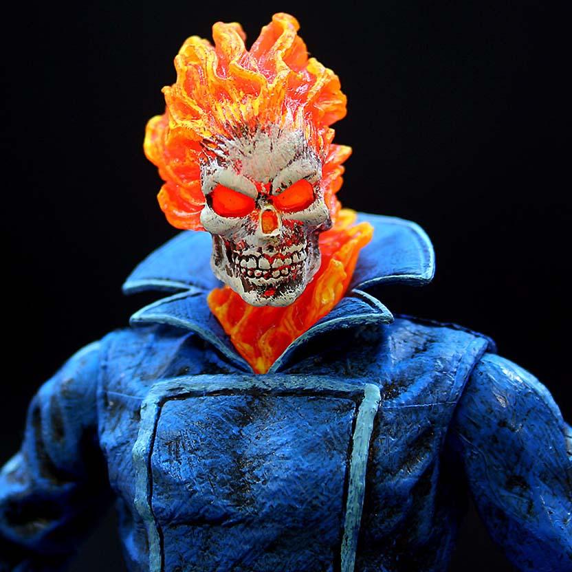 Marvel Select Ghost Rider : Motoqueiro Fantasma Diamond Select Toys action figure